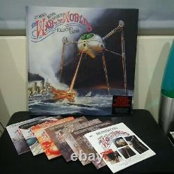 JEFF WAYNE WAR OF THE WORLDS 7CD/DVD Deluxe Collector's Edition Remix Rarities