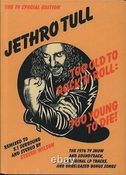 JETHRO TULL Too Old To Rock N Roll Too Young To Die CD Europe Chrysalis 2015 Tv