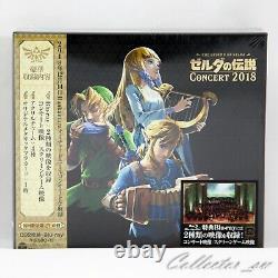 JP CD The Legend of Zelda Concert 2018 Limited Edition