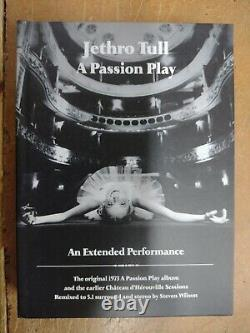 Jethro Tull A Passion Play An Extended Performance 40th Anniversary 2CD 2DVD