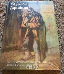 Jethro Tull Aqualung 40th Anniversary Adapted Edition 2 CD + 2 DVD Set NEW