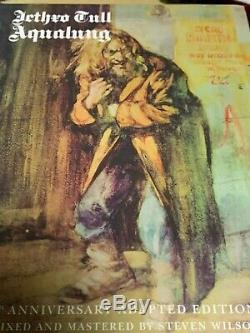 Jethro Tull-Aqualung 40th Anniversary Adapted Edition 2CD 2DVD pre-owned gently