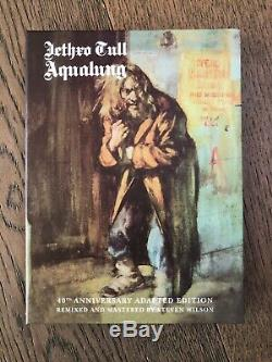 Jethro Tull Aqualung 40th Anniversary Adapted Edition NO BOOK 2CD 2DVD NEW