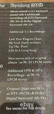 Jethro Tull Aqualung 40th Anniversary Steven Wilson Vinyl Lp 2cd DVD Blu Ray New