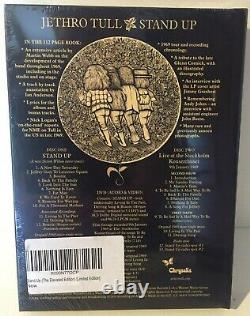 Jethro Tull Stand Up Elevated Edition Book Style Limited+Out of Print