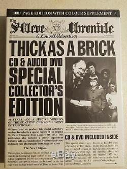 Jethro Tull Thick As A Brick 40th Anniversary Set Cd Dvd Audio