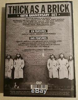Jethro Tull Thick As A Brick 40th Anniversary Set Cd Dvd Audio