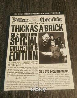 Jethro Tull Thick as a Brick 40th Anniversary CD/DVD 5.1 Mix