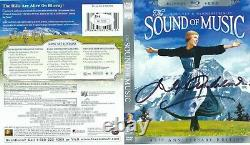 Julie Andrews Signed DVD Sleeve The Sound Of Music Autograph Jsa Coa