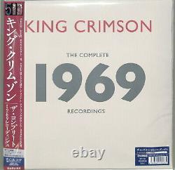 KING CRIMSON-1969-JAPAN 4 BLU-RAY AUDIO+DVD AUDIO+DVD+20 CD+BOOK Ltd/Ed BU50