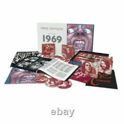 KING CRIMSON Complete 1969 Recordings 22CD + Blu-Ray & DVD-Audio Pre-Order 23OCT