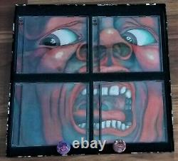 KING CRIMSON In the Court of the Crimson King 5CD/1DVD-A 40th Anniversary Box