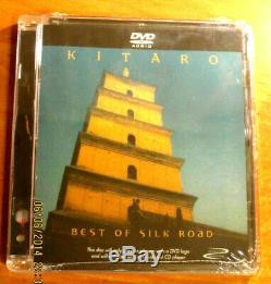 KITARO BEST OF SILK ROAD 5.1 DVD-Audio DTS Sealed