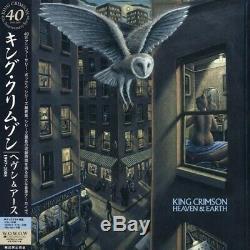 King Crimson Heaven & Earth Cd Box 18Cd 2Dvd-Audio 4Blu-Ray 40Th Anniversary