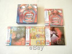 King Crimson JAPAN 4 titles Platinum SHM-CD DVD-AUDIO 7Mini LP BOX SET