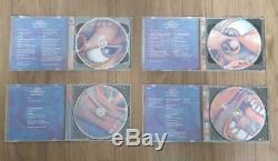 King Crimson JAPAN 4 titles Platinum SHM-CD DVD-AUDIO 7Mini LP BOX SET Limited