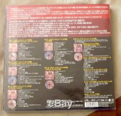 King Crimson Japan Mini 12 Inch Box Set Court Of Crimson King 5cds 1 DVD Audio+
