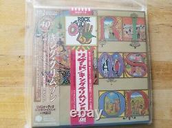 King Crimson Lizard HQCD+DVD+Sleeve w. Double OBI Japan Mini-LP CD IEZP-16 NEW