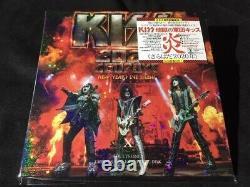 Kiss 2020 Goodbye New Years Eve Show Empress Valley Soundboard 2 CD DVD