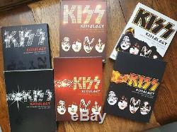 Kiss, Kissology Volumes 1,2+3 Plus All Bonus Discs And Inserts. Set # 3