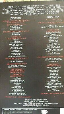 Kiss, Kissology Volumes 1,2 + 3, Plus All Bonus Discs. Stunning Set # 2