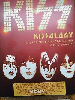 Kiss, Kissology Volumes 1,2+3 Plus Bunus Discs And Inserts. Stunning Set