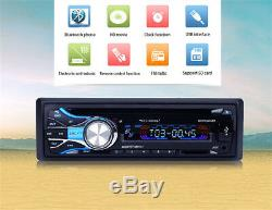 LCD Car Bluetooth Music MP3 DVD CD Player WithSuper Shock Bass Function AUX Audio