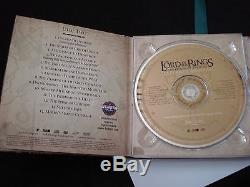 LORD OF THE RINGS Return of the King The Complete Recordings 4CD+DVD-AUDIO RARE
