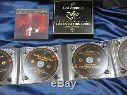 Led Zeppelin Listen To This, Eddie 1977, 4-dvd-audio, Black, Empress Valley