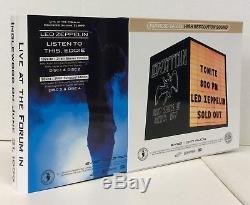 Led Zeppelin Listen To This, Eddie 1977, 4-dvd-audio, White, Empress Valley