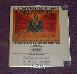 Led Zeppelin Texas International Pop 1969 CD + DVD Audio Empress Valley