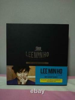 Lee Min Ho My Everything First Special Album Autographed CD + DVD + Photobook