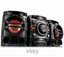 Lg Xboom Cm4360 230w Bluetooth Megasound Party Hi-fi Stereo System Usb Aux In