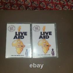 Live Aid Concert 1985 DVD 4 Disc Set Excellent Condition