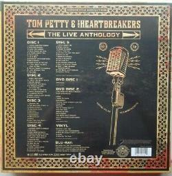 Live Anthology by Tom Petty & Heartbreakers (5CD/2DVD, Vinyl, Blu-ray Reprise) NEW