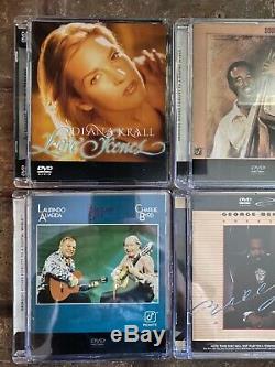 Lot of 4 DVD AUDIO DVDA George Benson Ray Brown Diana Krall Almeida/Byrd OOP