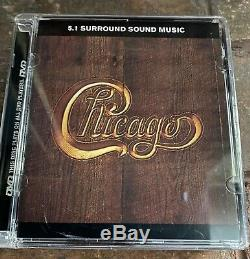 Lot of 4 DVD AUDIO ROCK DVDA Chicago II V Donald Fagen Clapton/BB King rare OOP