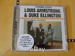 Louis Armstrong Duke Ellington Complete DVD Audio Classic Records 24/96 DAD