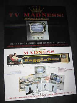 MADNESS GOGGLEBOX 4x DVD BOX SET 500 ONLY SUGGS SKA TWO 2 TONE CD LP