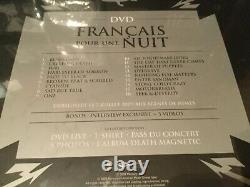 METALLICA-Francais Pour Une Nuit-Collector's BOX 03223 LIMITED! NEW