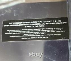 METALLICA the BLACK ALBUM ON DVD AUDIO 96/24 BIT RARE & FACTORY SEALED