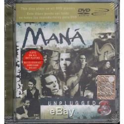 Mana' DVD-Audio MTV Unplugged / Wea Latina Sigillato 0809274117793