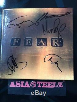 Marillion FEAR Special Edition CD + DVD hard book Signed By The FullBand Min New
