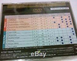 Mega Rare New DVD Audio 1999 Panasonic Technics Demo Promo Ntsc Music CD Japan