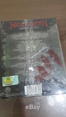 Megadeth Warchest (COMPLETE 5DISC/BOOK/BOX SET + 33 UNRELEASED TRACKS)