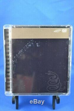 Metallica Black Album 5.1 Surround Sound DVD Audio Disc Rare OOP cd