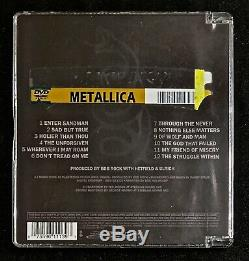 Metallica Black Album Multichannel MEGARARE! DVD AUDIO 5.1 Surround Sound OOP