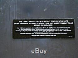 Metallica-the Black Album(dvd-audio) 96/24 Bit-oop-factory Sealed & Rare