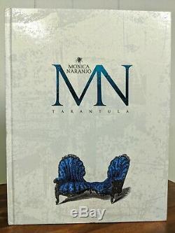 Monica Naranjo Tarantula Book DVD & CD Edicion Especial Limitada y Num Region 2