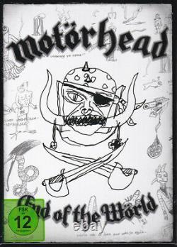 Motörhead End Of The World Ltd. Box Inc. 3dvd + 3cd + Backpatch Ltd. To 700